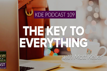 KDE Podcast 109: The Key to Everything (Interview with Matt Keller)