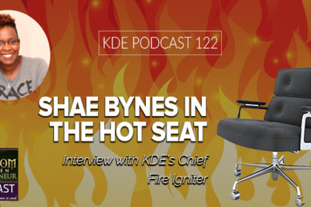 KDE Podcast 122: Shae Bynes in the Hot Seat
